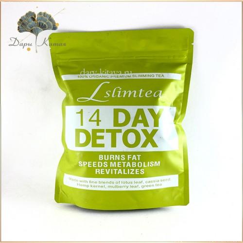 Slim Detox Tea. Чай для похудения.  14 пакетиков.