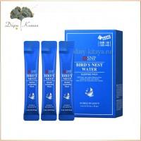 Ночная маска-крем с экстрактом ласточкиного гнезда SNP Bird's Nest Water Sleeping Pack (20 шт)