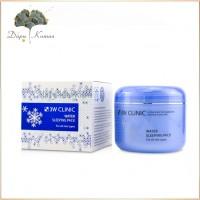 Ночная маска увлажнение кожи 3W CLINIC Water Sleeping Pack