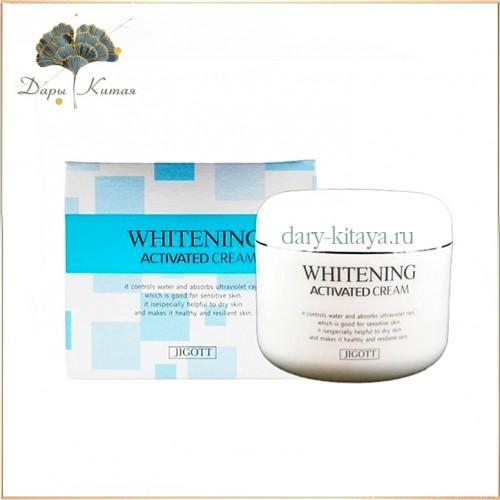 Отбеливающий крем Jigott Whitening Activated Cream, 100г