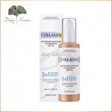 Тональный крем с коллагеном Collagen Whitening Moisture Foundation 3 in 1 (100 мл)