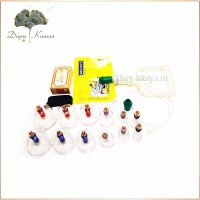 Массажные вакуумные банки Kangzhu Cupping Kit.